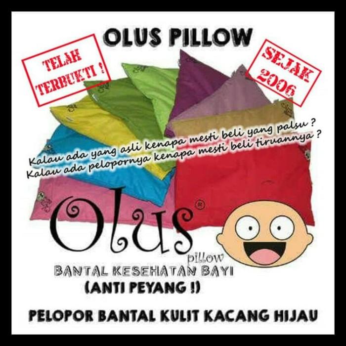 Olus Pillow | Bantal Kesehatan Bayi (Anti Peyang)| Bantal Kulit Kacang