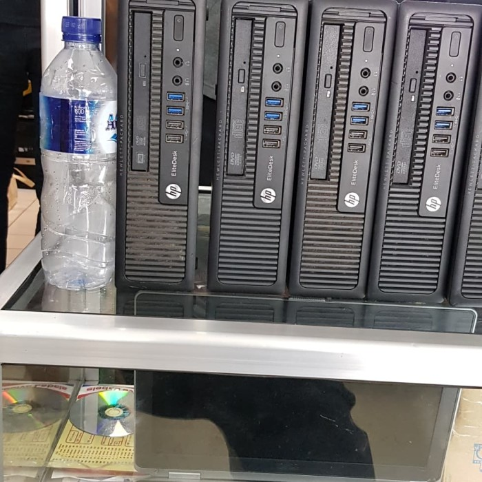 Jual HP EliteDesk 800G1 Ultra Slim Core i5 4670 - DKI Jakarta - JOE PC    Tokopedia