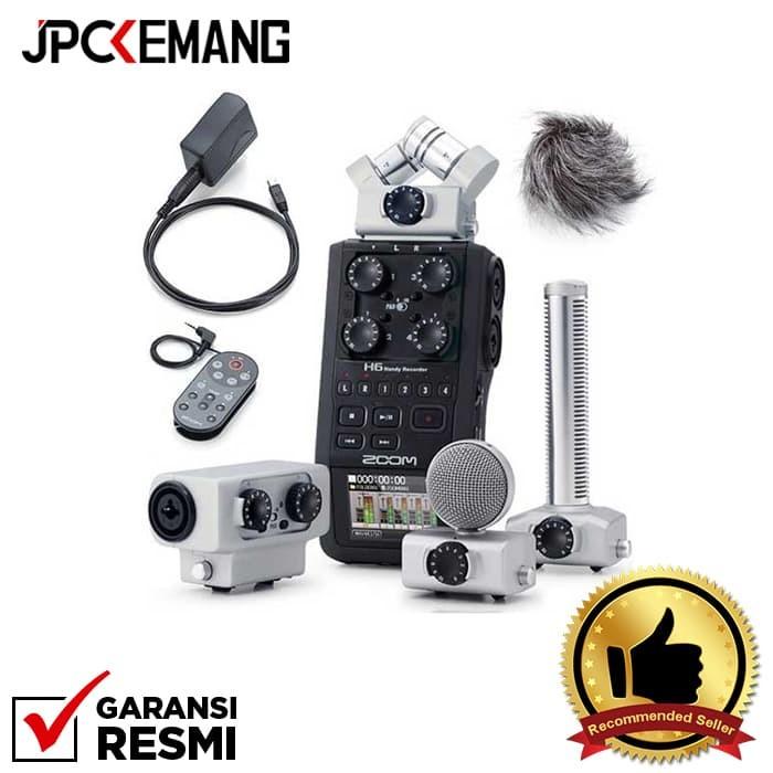 Foto Produk Zoom H6 Recorder with Accessories APH6 EXH6 SGH6 GARANSI RESMI dari JPCKemang