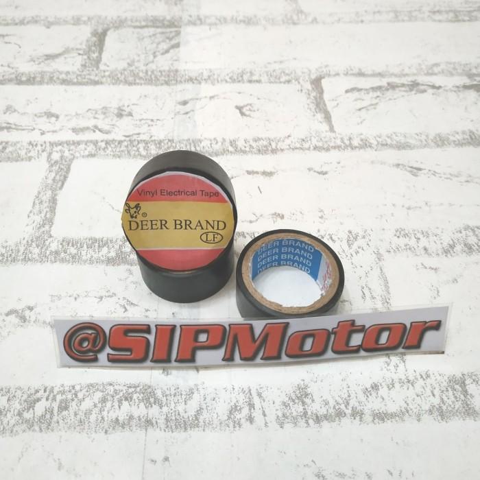 Foto Produk Solatip Selotip Hitam Untuk Solasi Lem Kabel Listrik dari SIPMotor