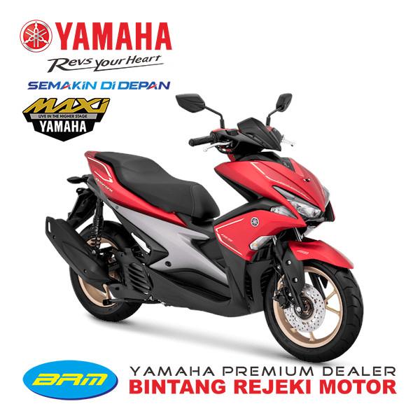 harga Sepeda motor yamaha type aerox s new bandung cimahi nik 2019 - merah Tokopedia.com