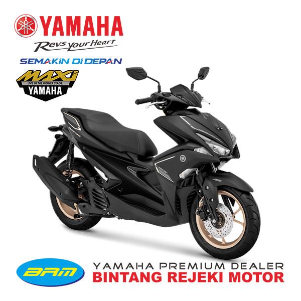 harga Sepeda motor yamaha type aerox s new bandung cimahi nik 2019 - hitam Tokopedia.com