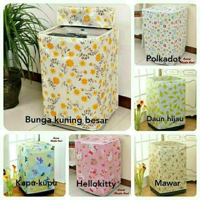 Foto Produk Cover Mesin Cuci 2 TABUNG, Sarung Mesin Cuci, Penutup Laundry - Keterangan dari Rainbow Home