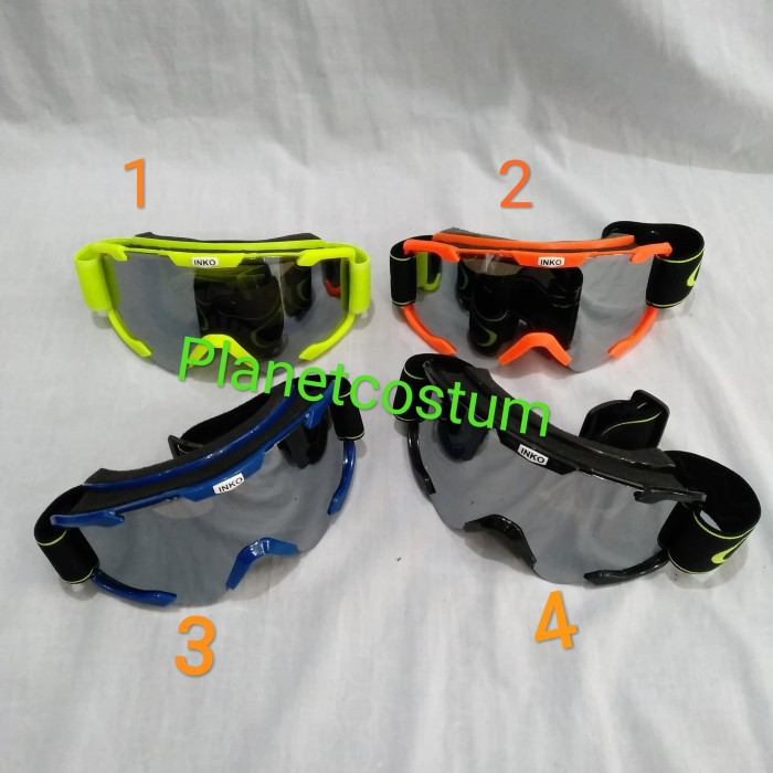harga Goggle kacamata helm sepeda motor trail motocross enduro trabas baru Tokopedia.com