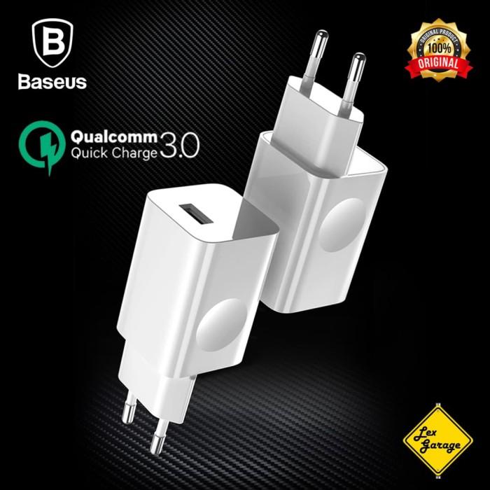 Foto Produk Charger Fast Charging Baseus Quick Charge QC 3.0 24W Original dari Lex Garage