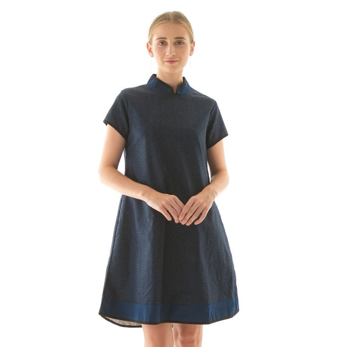 harga Shanghai dress in benji navy beatrice clothing Tokopedia.com
