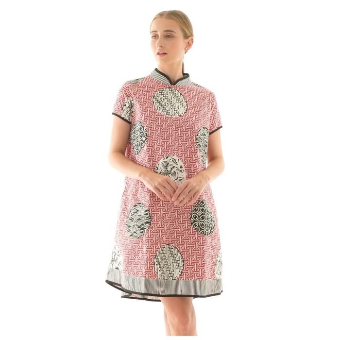 harga Shanghai dress in slampadan red beatrice clothing Tokopedia.com