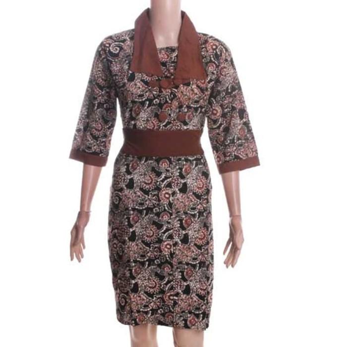 Dress Batik Sogan Navya