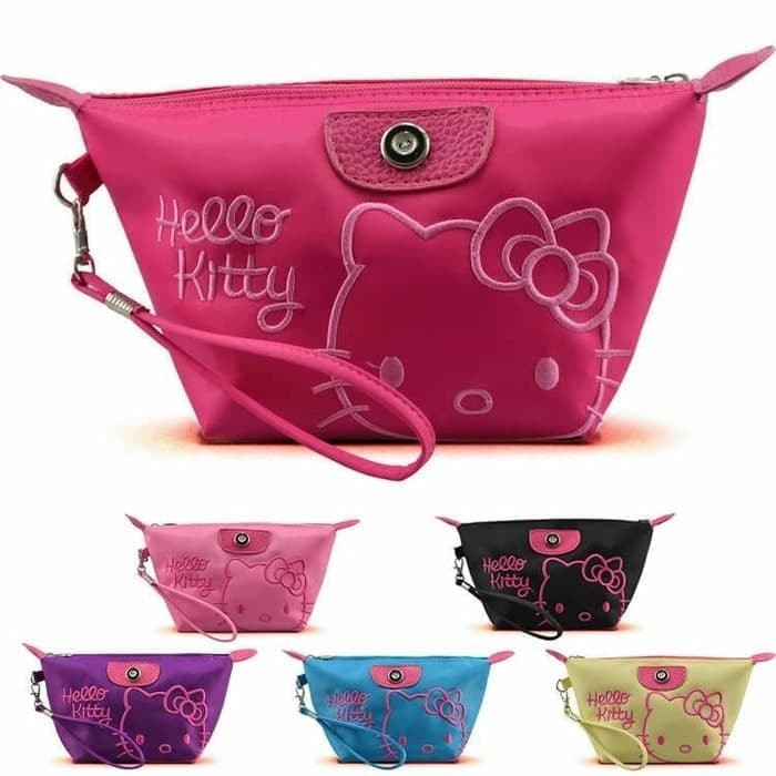 Tas Kosmetik Hello Kitty Bag Organizer Bag Pouch Tas Make Up RANDOM