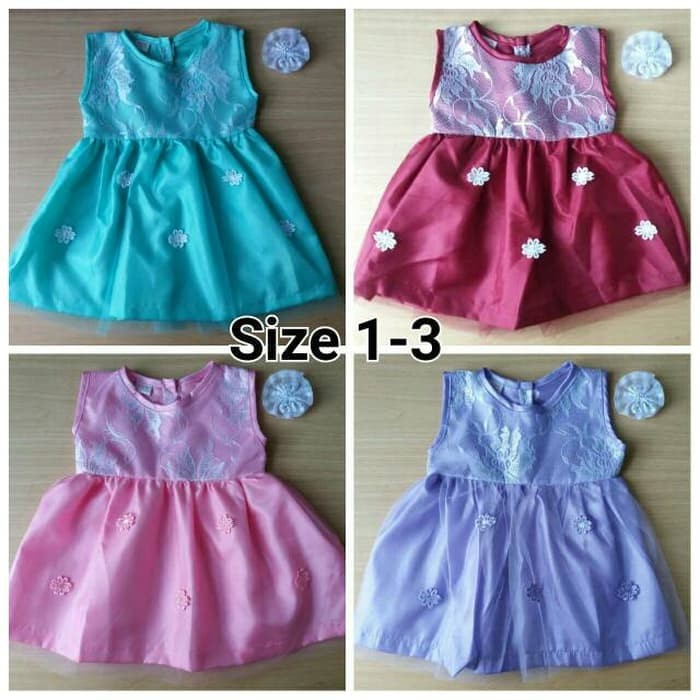 Mini Dress Dress Bayi Dress Anak