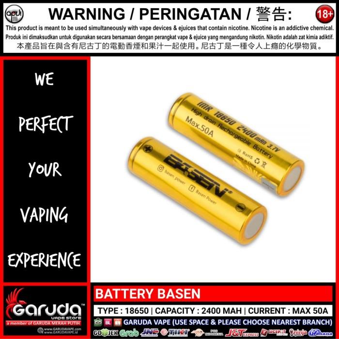 Nearest Battery Store >> Jual Battery Basen 2400mah 50a Dki Jakarta Garuda Vape Store Tokopedia