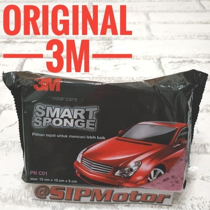 Foto Produk Spons 3M Busa Cuci Mobil Motor Smart Sponge dari SIPMotor