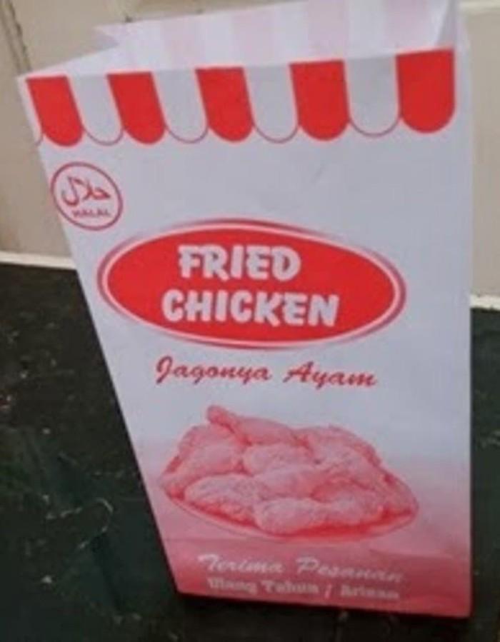 Foto Produk KANTONG FRIED CHICKEN / PAPER BAG / KANTONG AYAM / BUNGKUS AYAM dari Sri Suprindah shop