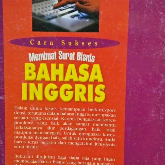 Jual Cara Sukses Membuat Surat Bisnis Bahasa Inggris Kota Medan Toko Buku Youly Tokopedia
