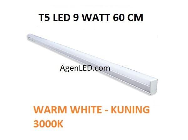 Plus adapté Jual Lampu TL Neon T5 LED 9W 60cm Tube 60 cm 9 w watt WARM WHITE ZL-63