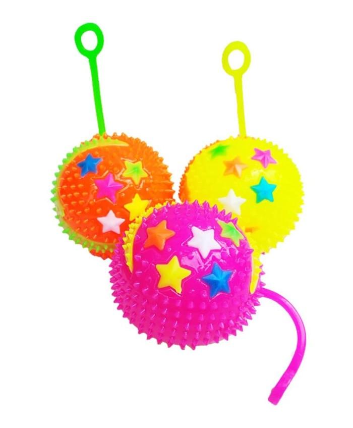Foto Produk FLASHING SPIKY BALL / BOLA LAMPU TOET TOET dari Bintaro Baby Shop