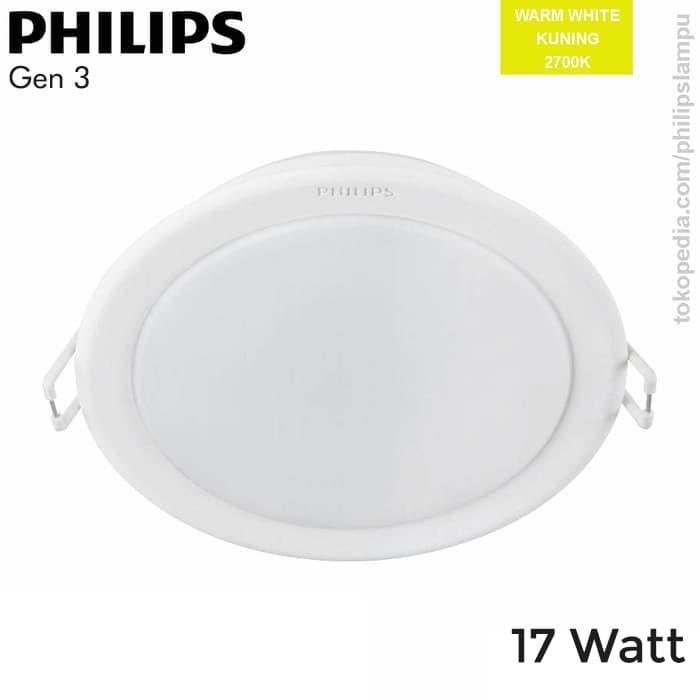 Foto Produk Lampu Downlight LED Philips 59466 Meson Gen 3 17W WarmWhite 17 Watt - Kuning dari philipslampu