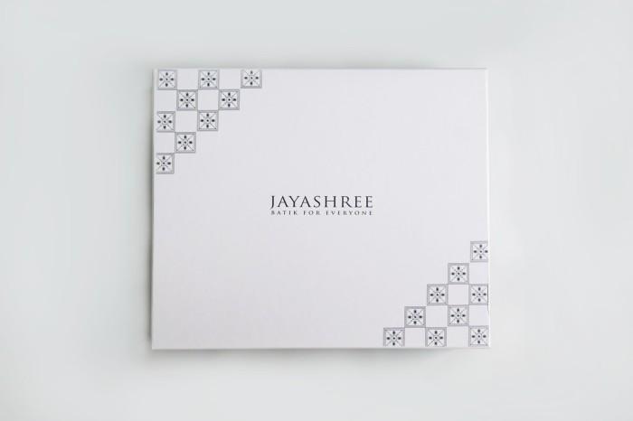 harga Jayashree batik signature box - packaging & gift box - putih Tokopedia.com
