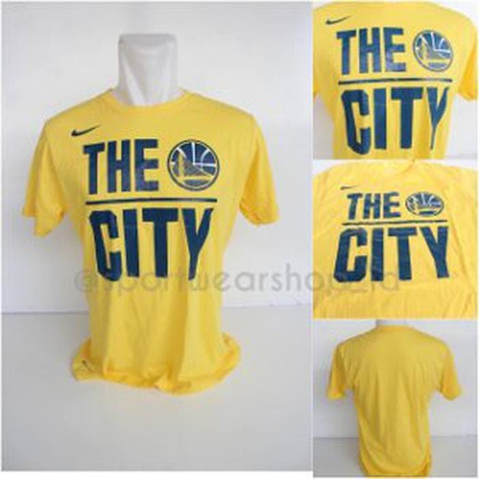 a8dd88731833 Harga Terbaru Tshirt - Baju Kaos Basket Nike NBA Golden State ...