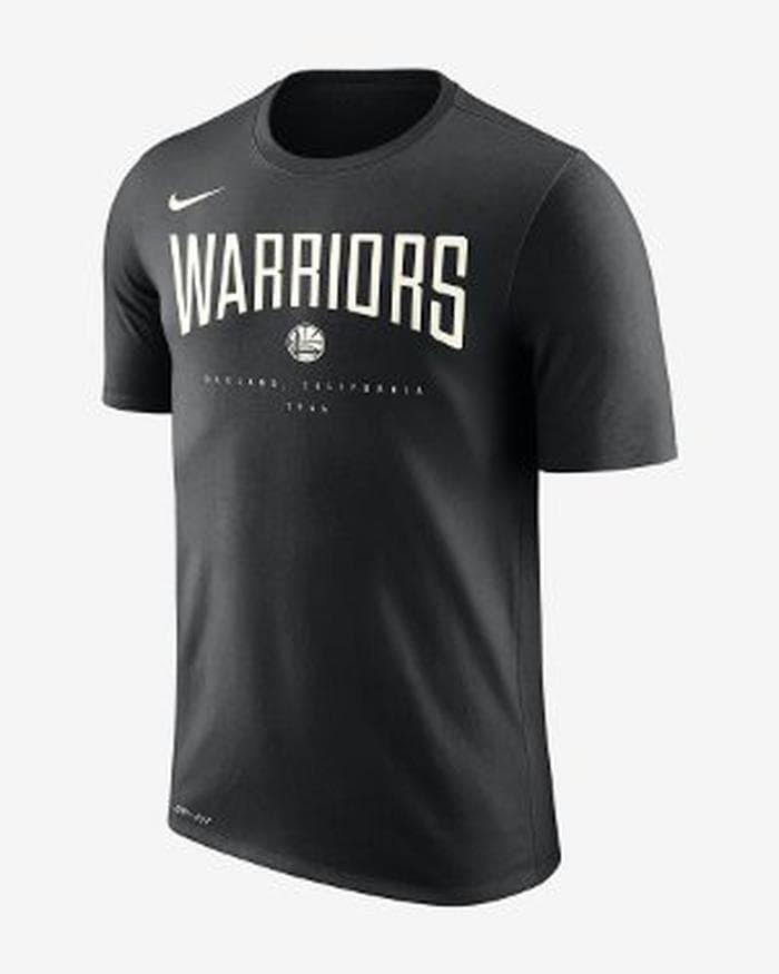 8e99f23ea216 Harga Jual Tshirt - Baju Kaos Basket NBA NIKE City Drifit - Golden ...