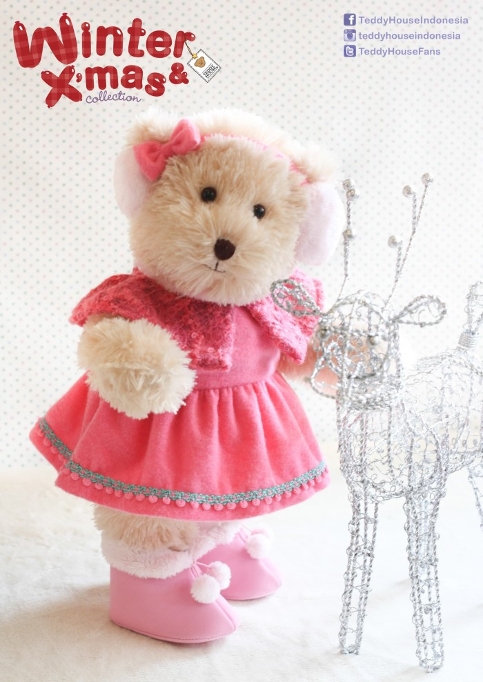 harga Teddy house boneka teddy bear zeira bear 14  joint Tokopedia.com