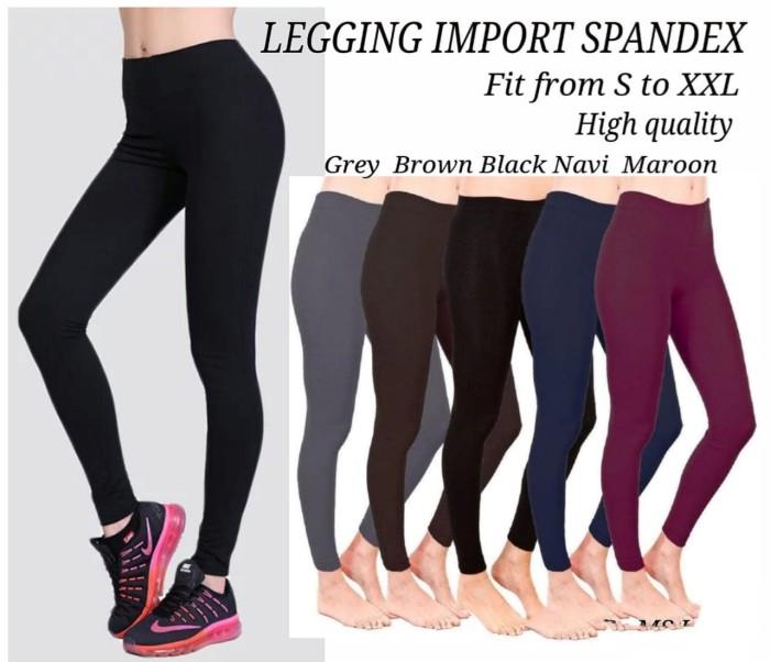 Jual Legging Import Spandex Polos Ro Celana Legging Spandex Varian Warna Abu Abu Jakarta Barat Fashionista S Grosir Tokopedia