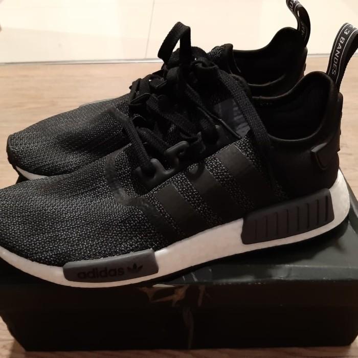 reputable site f30a8 976b0 Jual Adidas NMD R1 Black Carbon Reflective   Size 42 2/3   Used Like New -  , - Kab. Kediri - Toko Firaun   Tokopedia