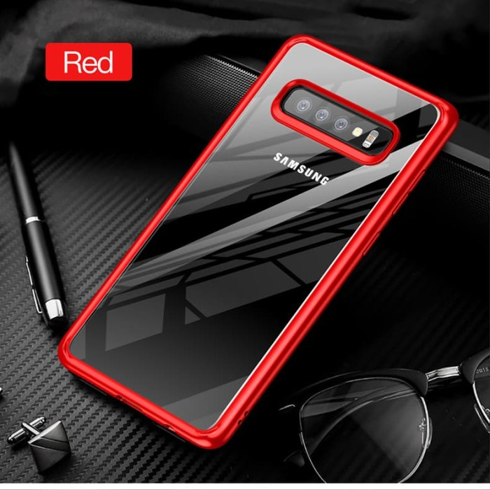 harga Samsung galaxy s10 lite s10e totu crystal color series hard soft case Tokopedia.com