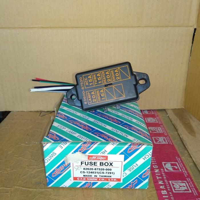 96 Contour Fuse Box