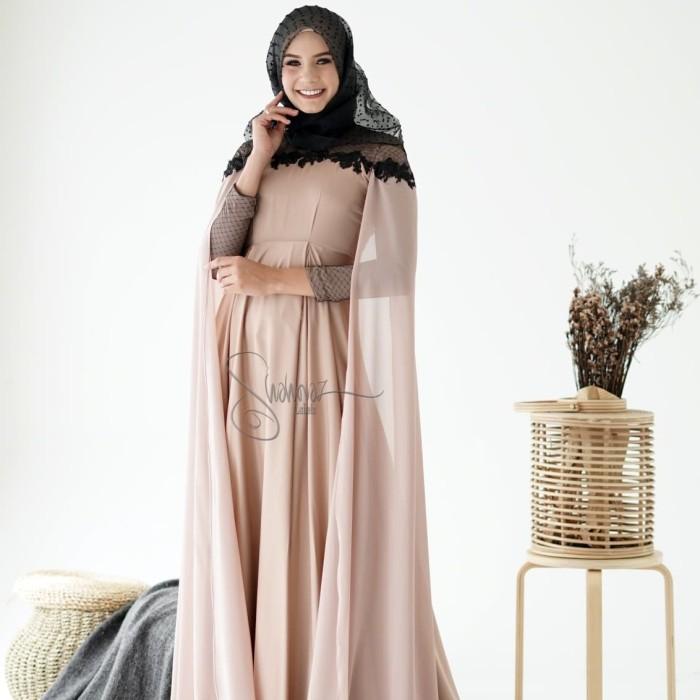 Jual Gaun Pesta Muslimah Elegan Abaya Dress Gaun Muslimah Biru Muda M Kota Cirebon Abu Said Shop Tokopedia