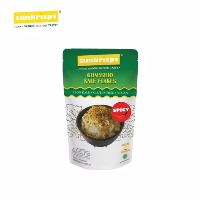 harga Sunkrisps spicy gomashio - abon kale rasa pedas Tokopedia.com