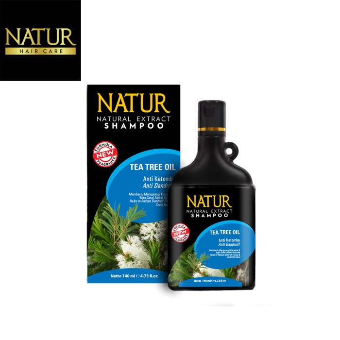 Foto Produk Natur Hair Shampoo Anti Dandruff 140 ML dari Back To Natur