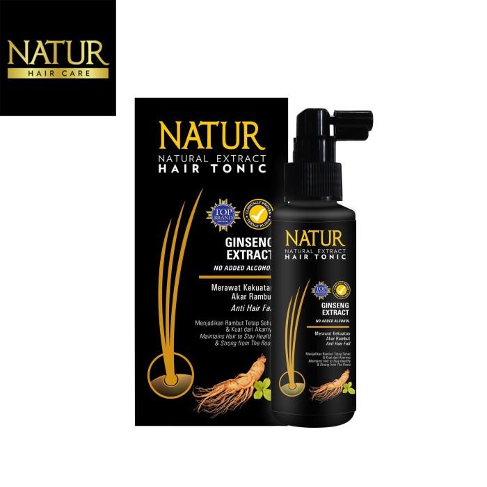 Foto Produk Natur Hair Tonic Gingseng 90 Ml dari Back To Natur