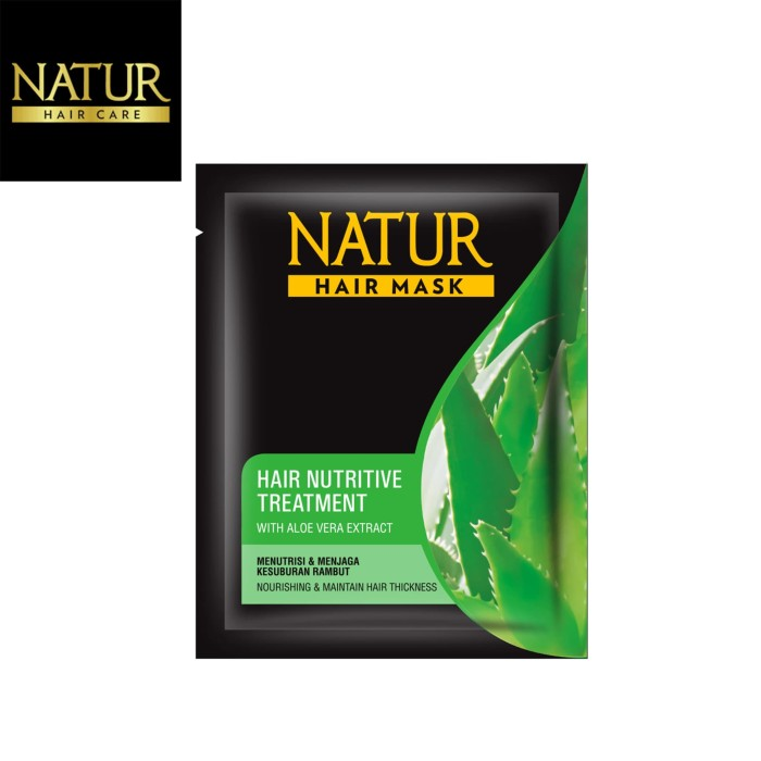 Foto Produk Natur Hair Mask Nutritive Treatment dari Back To Natur