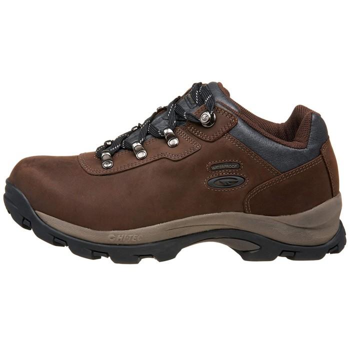 Hi-Tec Mens Altitude Pro Low Waterproof Hiking Shoes Brown Sports Outdoors