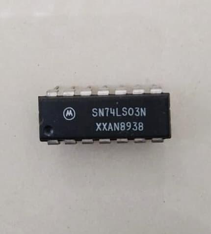 2pk 74LS03 Quad 2-Input NAND Gate with O//C