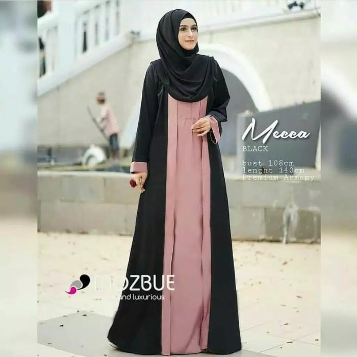 Foto Produk TERMURAH Mecca maxi dress muslim/baju gamis murah modern dari D&Nsweter