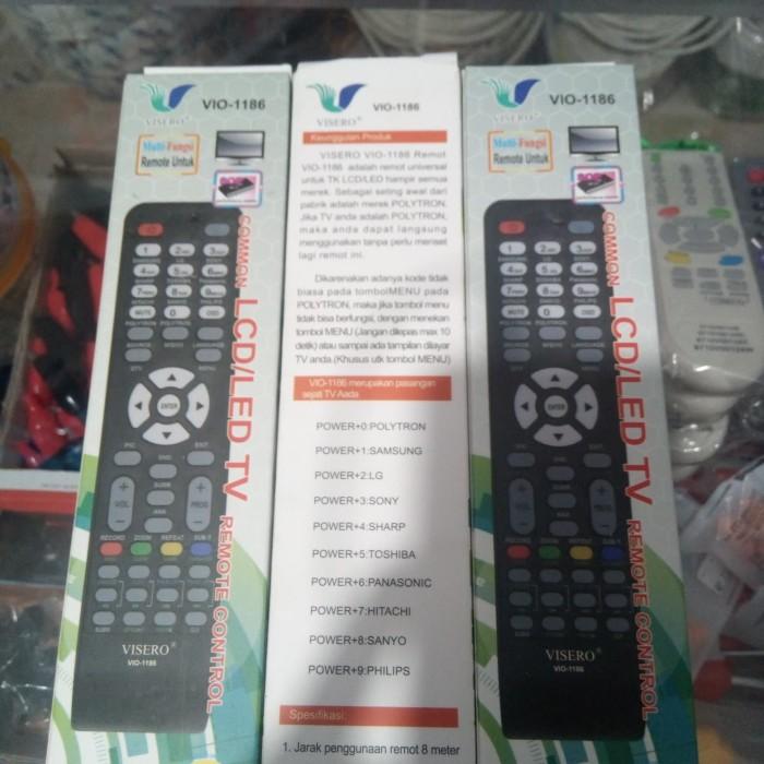 Jual remot multi fungsi vio 1186 lcd/led tv - - DKI Jakarta - olshop kemeja  | Tokopedia