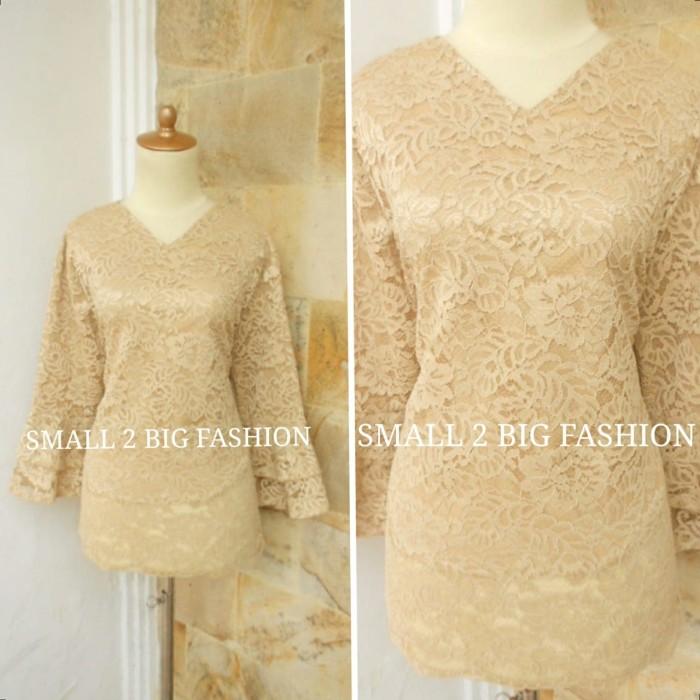 Foto Produk kebaya jumbo / kebaya xl xxl xxxl 4L 5L / kebaya jadi brokat besar dari Small 2 Big Fashion