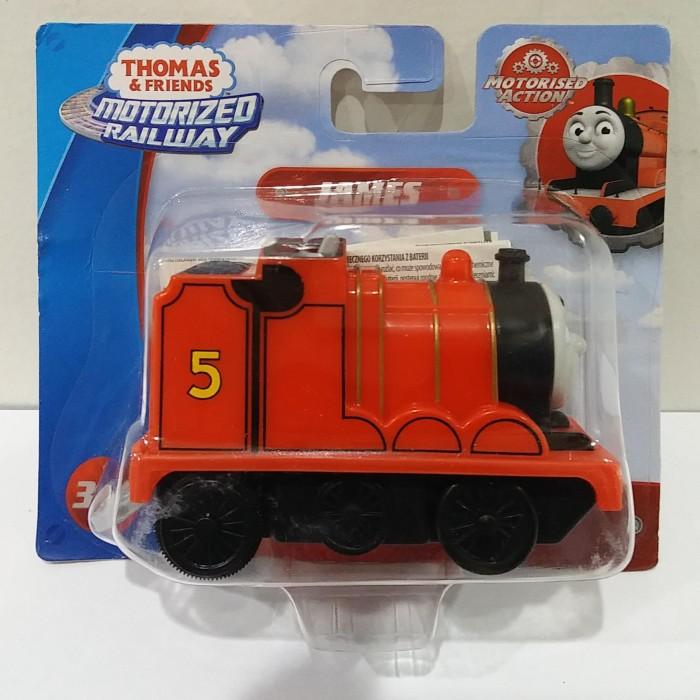 Foto Produk MATTEL, Thomas & Friends Motorized Railway - James dari Top Bricks & Toys