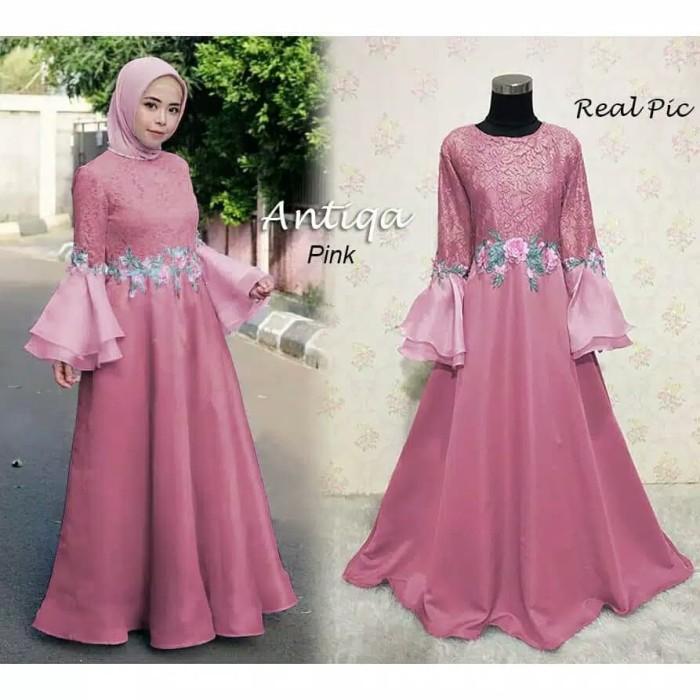 Jual Maxi Dress Kebaya Long Dress Pesta Kebaya Wisuda Brukat Gamis Pesta 1 Kab Serang Princess Os12 Tokopedia