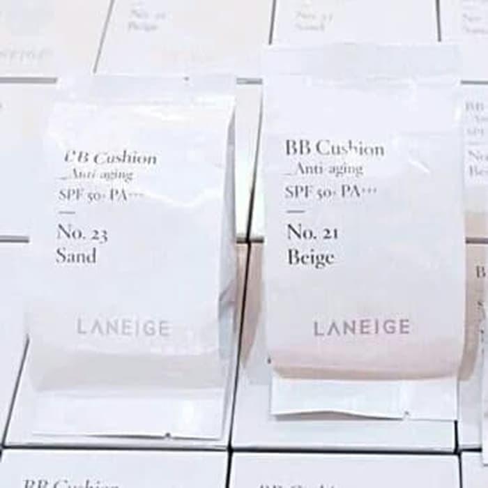 Jual Laneige Bb Cushion Anti Aging 23 Sand Refill Saja Dki Jakarta Korean Kosmetik Supplier Tokopedia