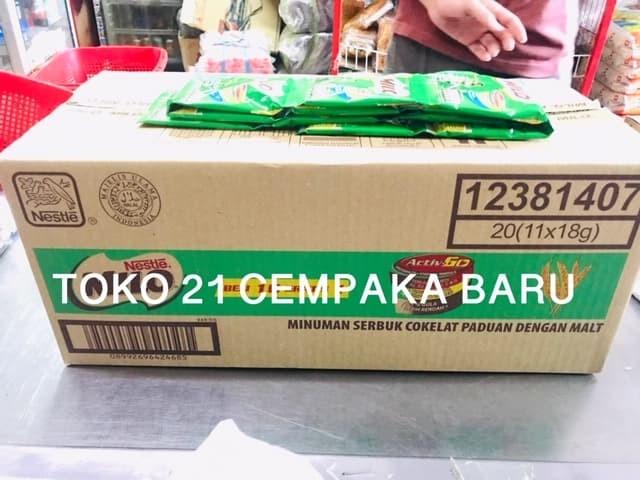harga Milo biasa 1 karton isi 20 renceng   susu milo activ go sachet murah Tokopedia.com