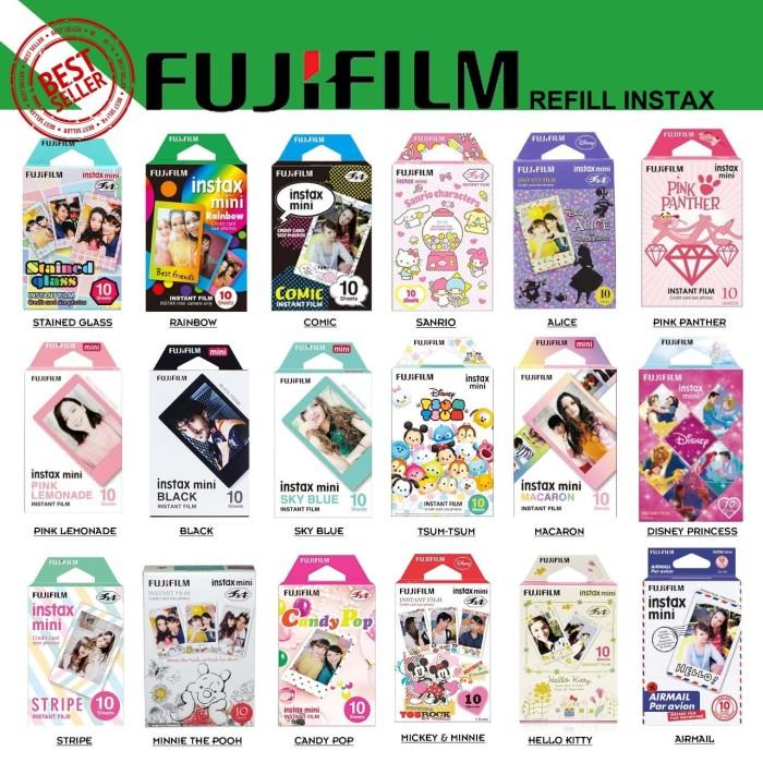 harga Refill fujifilm instax mini instant color film isi 10 lembar Tokopedia.com