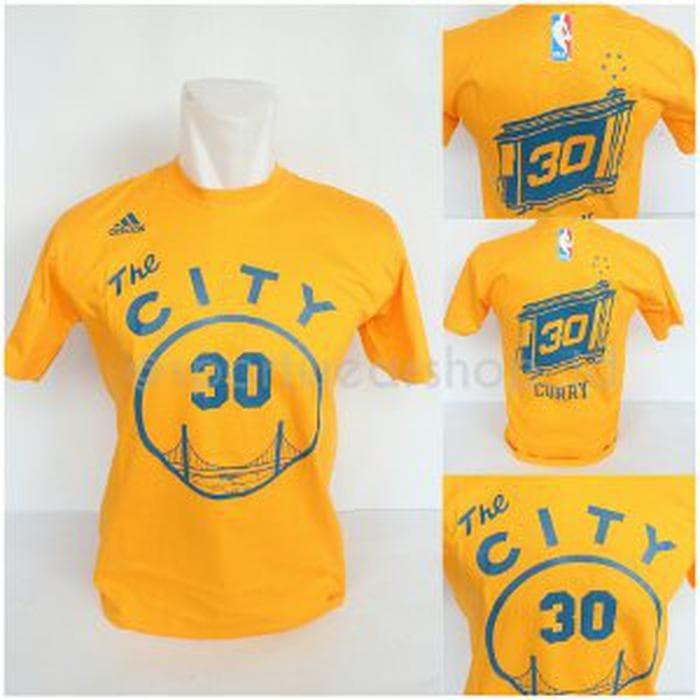 fedff074e8aa Harga Terbaru Tshirt - Baju Kaos Basket NBA Gametime The City - GSW ...