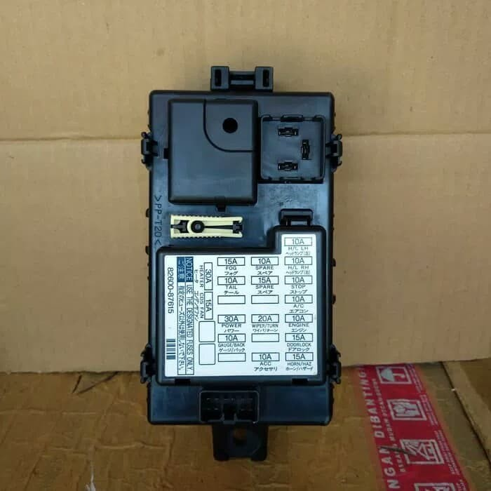 Fuse Box Daihatsu Taruna - Wiring Diagram M2 Daihatsu Sportrak Fuse Box on