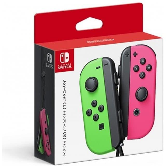 Foto Produk NINTENDO SWITCH JOYCON JOY CON (L/R) Green Pink dari Chelski Games