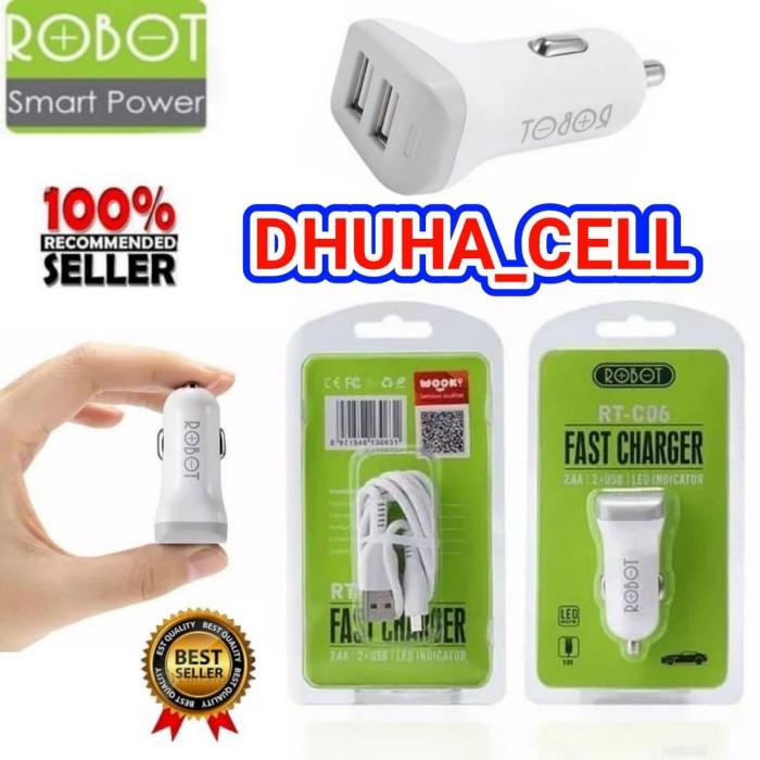 harga Saver robot rt-c06 2 usb / charger motor mobil rtc06 mobile charger Tokopedia.com