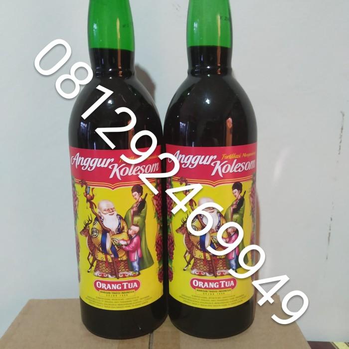 Jual Anggur Kolesom Cap Orang Tua Anggur Kolesom Besar 620ml Harga