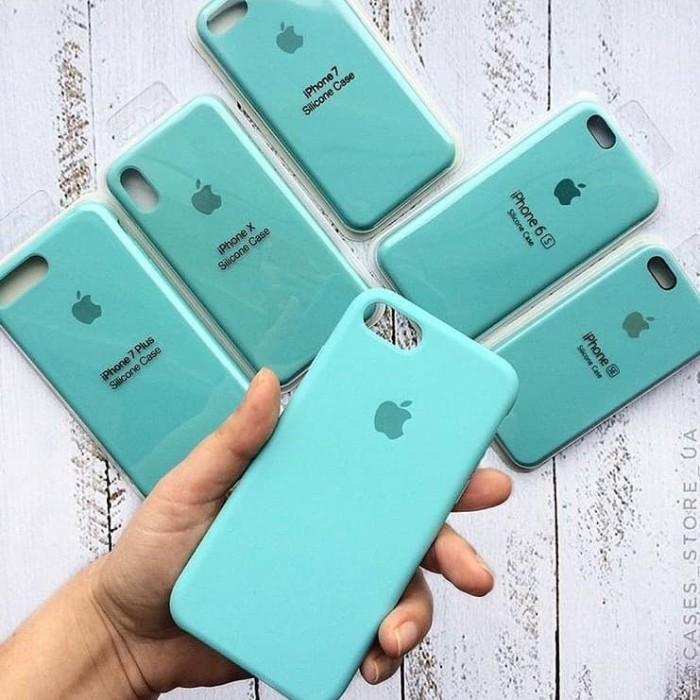 pretty nice e29b9 77bcf Jual Case Iphone X XS XR XSmax Silicon Kualitas Seperti Original Ice Blue -  Kota Bekasi - Priamapan   Tokopedia